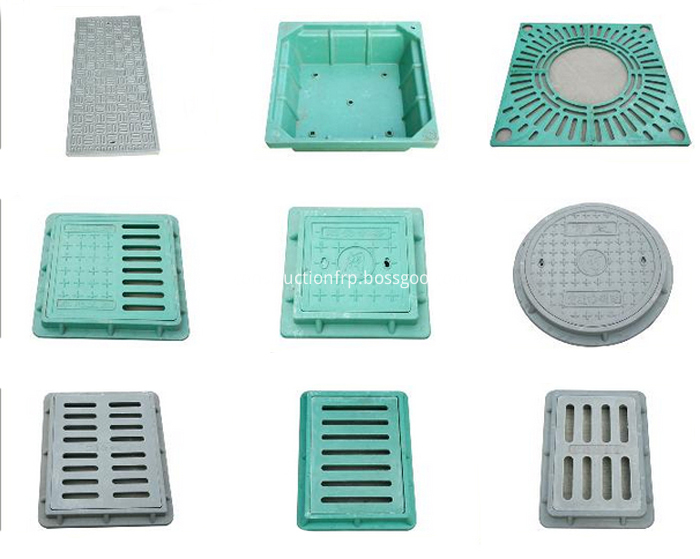 Customized Round FRP SMC Composite Manhole Cover