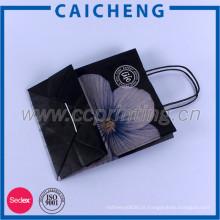 Uso de compras e material de papelão Kraft Paper Bag