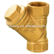 606 Y type Brass strainer Brass filter