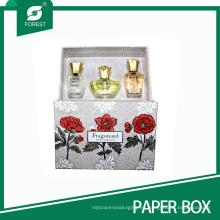 Caja de regalo de alta calidad de la cartulina de los cosméticos para el empaquetado del perfume