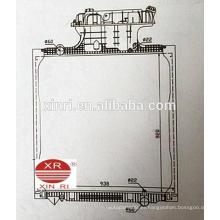 MAN TGA (02-) radiador de camión radiador de aluminio 81061016512 81061016459 81061016462 81061016469 81061016473 81061016477