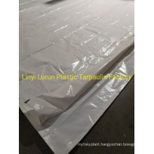 100% Virgin Material White PE Tarpauln Cover, Finished PE Tarpaulin