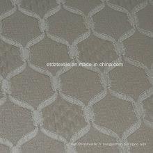 Tissu de rideau à rayures en polyester de qualité supérieure