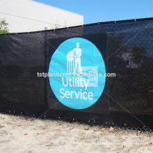windbreak netting logo printed,customizes fence plastic balcony screen