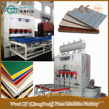 SCL/ horizontal hydraulic press machine/ cylinder heat pressure machine/short cycle laminate machine