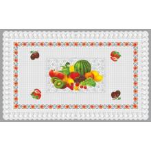 Venta caliente (TZ-0028) todo en un mantel transparente impreso PVC del diseño independiente para el hogar / el partido / la boda