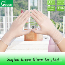 Clear Vinyl Gloves with OEM