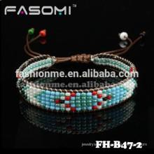 seed bead tassel hand jewelry