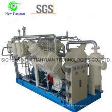 Compresor de llenado de cilindros del tipo de vehículo Biogas para la estación de reabastecimiento de biogás