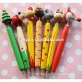 stylo de marquage à chaud en bois