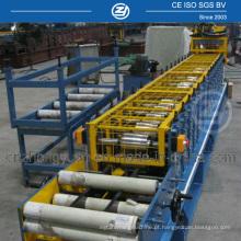 Máquina para fabricação de hastes e esteiras