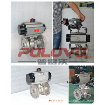 Flanged fast acting pn16 stainless steel ball float valve