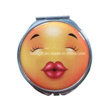 Nouveau Design Emoji moins chère cosmétique miroir en gros