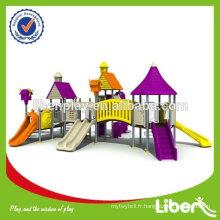 2014 Vente chaude !!! Équipement de divertissement en plein air, équipement de terrain de jeux extérieur utilisé, équipement de terrain de jeux pour enfants en plastique