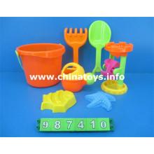 Educacional Kids plástico DIY brinquedos de praia (987410)