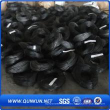 Alambre de encuadernación Negro Soft recocido Twist Wire