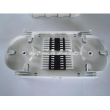 FTTH FTTX 24 puertos Placa de empalme de fibra óptica 24 puertos FO ABS Plástico para cierre de cables de fibra óptica