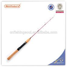 ICR053 graphite canne à pêche blanc canne à pêche weihai oem carbone glace canne à pêche