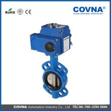 Válvula de borboleta de motor para sistema de água, válvula de controle de fluxo elétrico