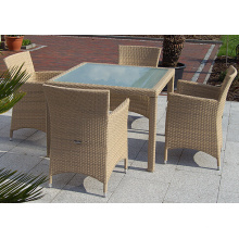 Outdoor Waterproof Square Dining Coffee Table Furniture