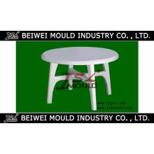 Molde de mesa de plástico con inyección caliente