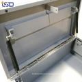 Водонепроницаемая металлическая коробка для инструментов на кузове грузовика с колесами Водонепроницаемая металлическая коробка для инструментов на стройке с колесами