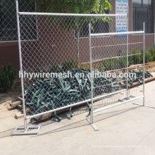 l'exportation vers l'Australie a soudé la clôture temporaire galvanisée soudée la clôture temporaire soudée de fil