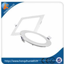Bon prix pour 12w led panneau de lumière 90lm / w PF0.95 RA75 China Manufaturer