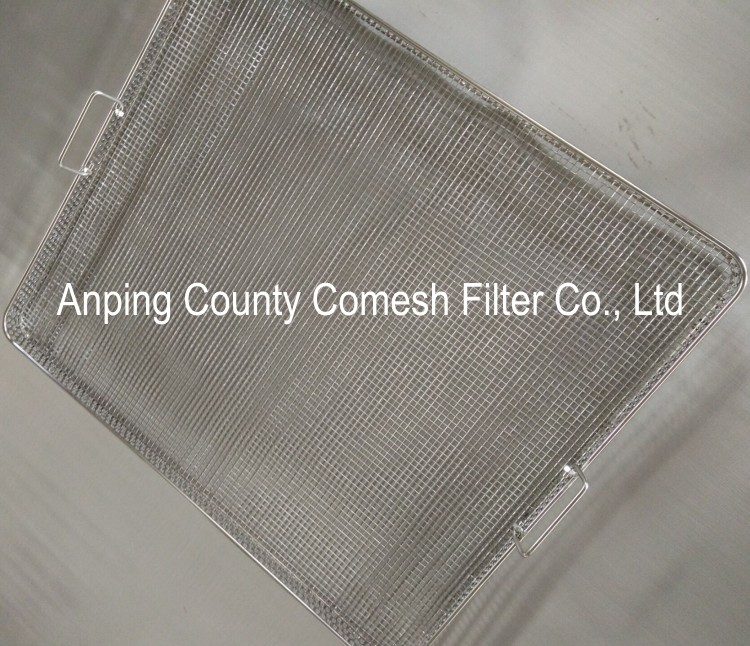 304 Stainless steel Perforated Wire Mesh Tray