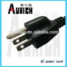 UL estándar Popular PVC Electrica Cables con energía powerwire 125V