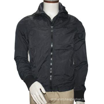 Mens Fashion High Neck Zip up Bomber Coat&Jackets 2016