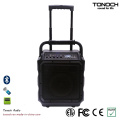 8 Inches Portable Consumer Loud Speaker with Bluetooth and Battery