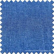 Tissu à manches courtes en coton à élasticité à haute élasticité