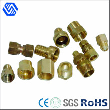 Precision Brass Nut Lather Turning Part Round Insert Nut