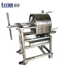 Nahrungsmittelgrad-gesundheitliche Edelstahl-Platten-Rahmen-Filter-Maschine mit bestem Preis