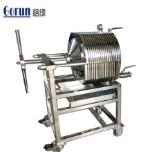 Food Grade Sanitary Stainless Steel Plate Frame Filter Machine With Best Price