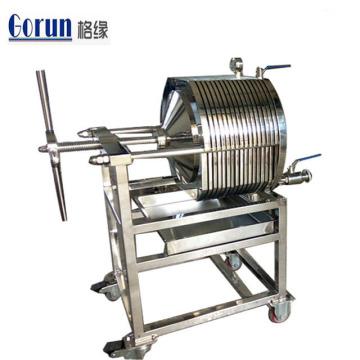 Máquina sanitária do filtro de quadro da placa de aço inoxidável de produto comestível com melhor preço