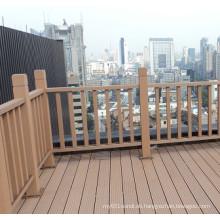 Umweltfreundlicher Garten WPC-Zaun für Geländer im Freien