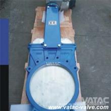 Wafer hierro fundido gris y hierro dúctil Gg25 / Ggg40 / EPDM cuchillo de la válvula de compuerta