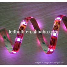 Lampe flexible 3528 led bande super brillant imperméable à l'eau