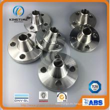 Reborde forjado del tubo del acero inoxidable del cuello F304 de la soldadura del reborde (KT0372)