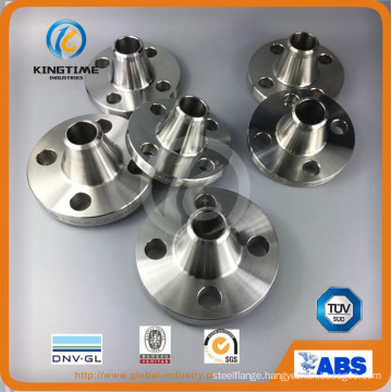Forged Flange Welding Neck Stainless Steel F304 Pipe Flange (KT0372)