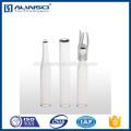 Inserções cônicas de 250ul para frasco de extrusão a vácuo 1.5ML Frasco de alta qualidade hplc hplc de qualidade Agilent