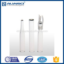 250ul Insertos cónicos para el frasco del inyector automático 1.5ML Frasco de la calidad de Agilent frasco del hplc del hplc