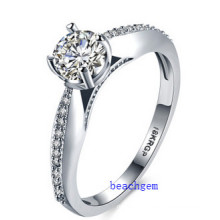 Hot Sell Jewelry- Cubic Zirconia Brass Rings (R0826)