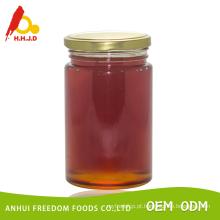 mel com pente embalado em frasco de vidro 453g