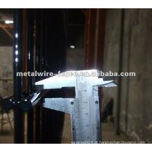 PVC revestido cerca de malha dupla