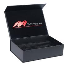 luxury paper cardboard box with foam insert