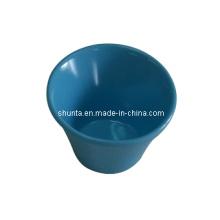 Petit plat de mélamine / plat de gâteau coloré / vaisselle de mélamine de 100% (QQ10207)