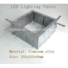 Aleación de aluminio Die Casting LED de iluminación de la vivienda Partes del cuerpo